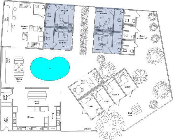 occi lodge layout